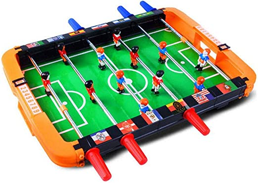 Hamkaw Mini Futbolín de Mesa ABS Durable Juegos 35cm x 34cm x 5cm ...