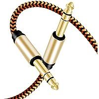 Cable de guitarra de 6,35 mm 10M,LiuTian Premium 6.35 mm Mono Jack 1/4 Pulgadas TS Cable Desequilibrado de Empalme…