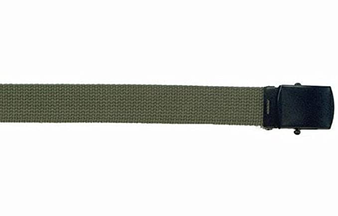 Amazon.com  Army Camouflage Solid Color Military Web Belt (Olive ... 69db207c7ea