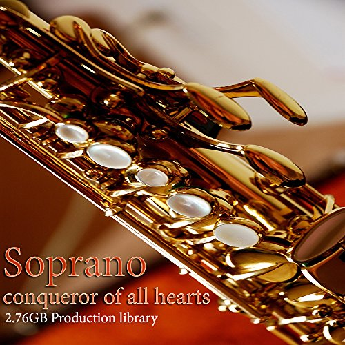 - SAX-SOPRANO PLATINUM Collection - Large Sound Library WAVE Multi-Layer Samples 2,67GB on DVD or download