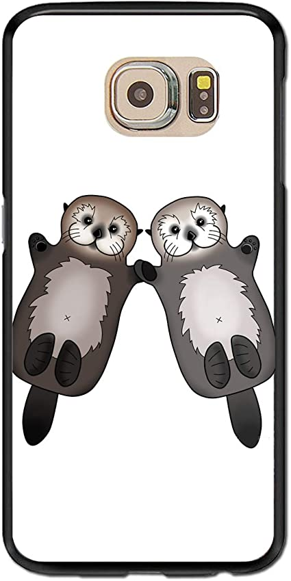 Coque Samsung Galaxy S6 Funny Loutre Noir Cool Protection Cover ...
