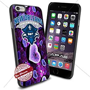New Orleans Privateers NCAA ,Cool Iphone 6 Smartphone Case Cover Collector iphone TPU Rubber Case Black color [ Original by WorldPhoneCase Oly ]