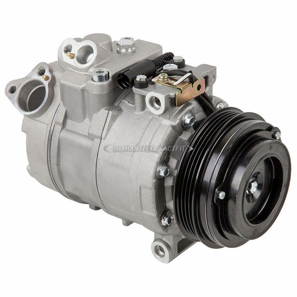 AC Compressor & A/C Clutch For BMW X5 2003 2004 2005 2006 - BuyAutoParts 60-01977NA New
