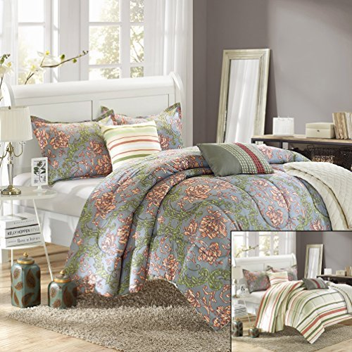 Peach Comforter Set Amazon Com