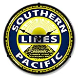 Southern Pacific Railroad Lighted Wall Clock Review