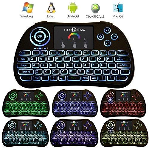 niceEshop Wireless Keyboard Touchpad Rechargable product image
