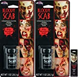 Potomac Banks Bloody Scab Makeup Thisck Blood (Pack of 2) with Free Pack of Makeup