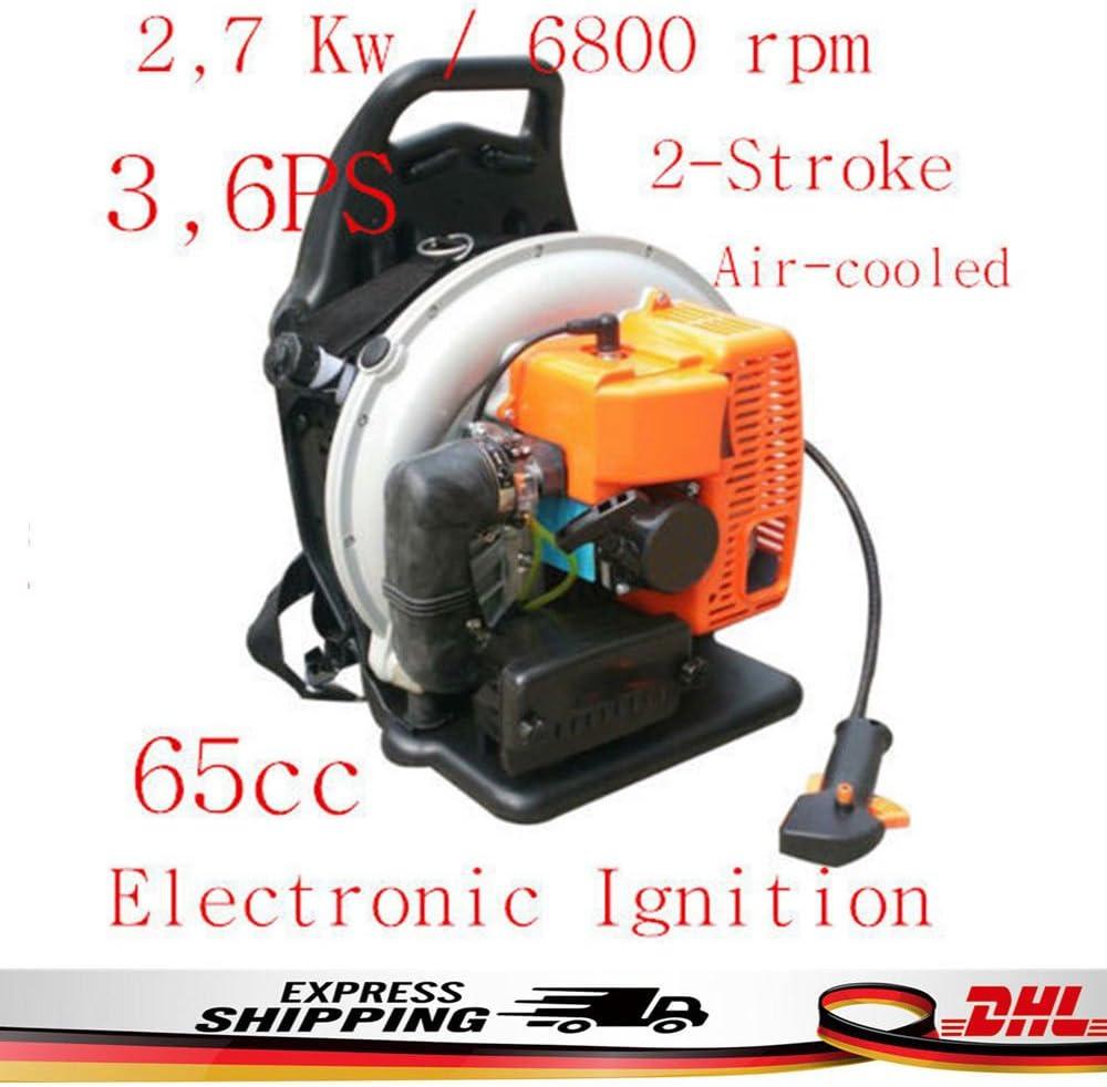 Z&Y 65CC Motor de Gasolina 3, 6PS sopladora Aspiradora Jardín Soplador de Gasolina Motor 2.7KW: Amazon.es: Jardín
