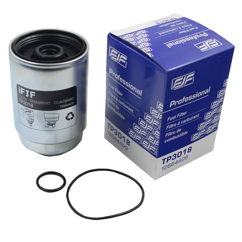 Amazon.com: iFJF TP3018 Fuel Filter with Seals for Chevy Duramax Fuel Filter  and GMC 6.6L Diesel Trucks 2004-2016 (Filter): Automotive