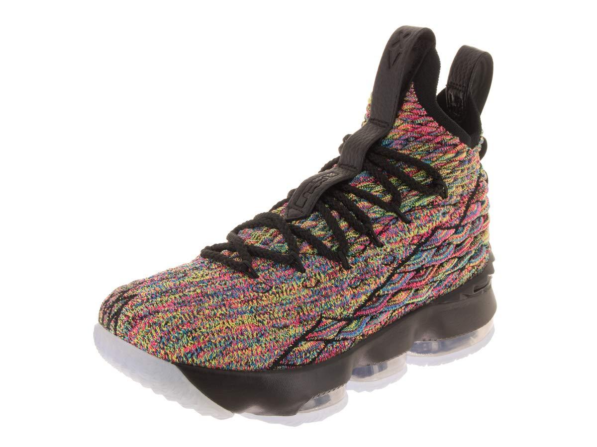 Nike Kids Lebron XV (GS) Multi-Color/White Basketball Shoe 4.5 Kids US