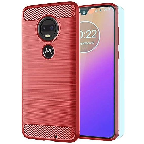 Amazon com: Moto G7 Case/Moto G7 Plus Case with HD Screen