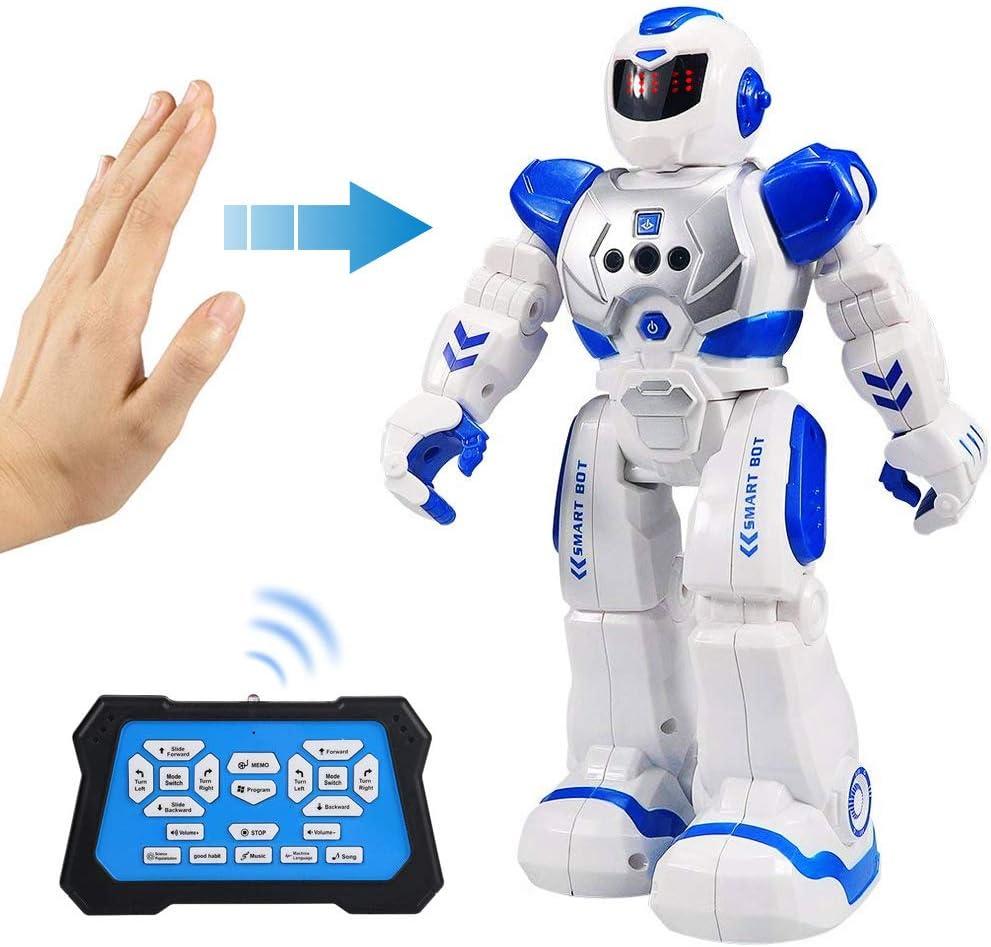 RC Remote Control Robot Smart Action Walk Dancing Gesture Sensor Kids Toy Gift