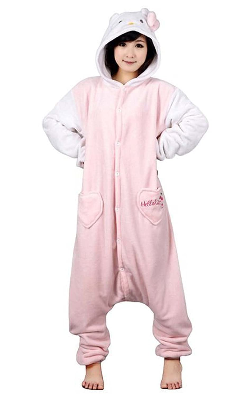 Pijama unisex de una sola pieza con dise/ño de Pikachu para adultos.