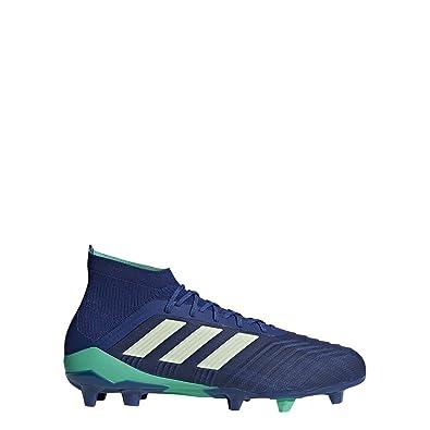 9d8f573a1c01 adidas Predator 18.1 FG Cleat Men s Soccer 8 Unity Ink-Aero Green-Hi Res