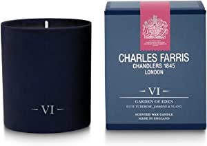 Charles Farris Home scents Candle-Glass-Garden of Eden