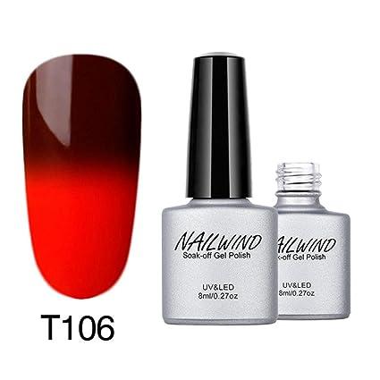 prevently Creative cambio de color Gel de uñas UV LED Gel polaco ...