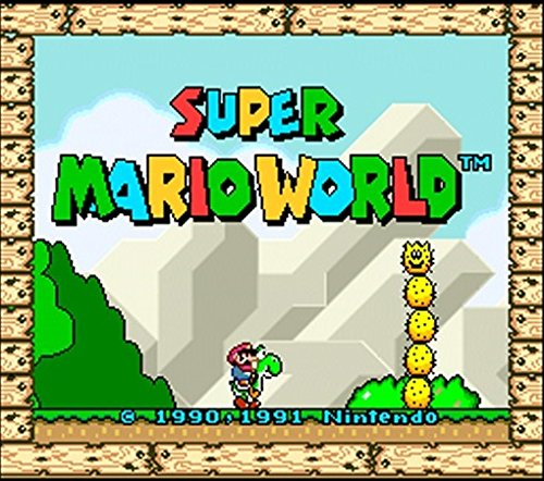 Super Mario World (New 3DSXL Only) - 3DS [Digital Code] - Kid Nintendo Nes Game
