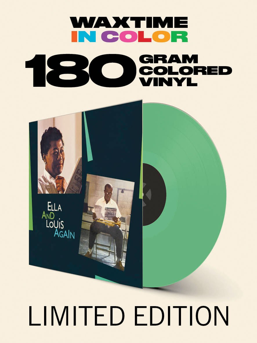 Vinilo : ELLA & LOUIS ARMSTRONG FITZGERALD - Ella & Louis Again (180 Gram Vinyl, Limited Edition, Colored Vinyl, Green, Remastered)