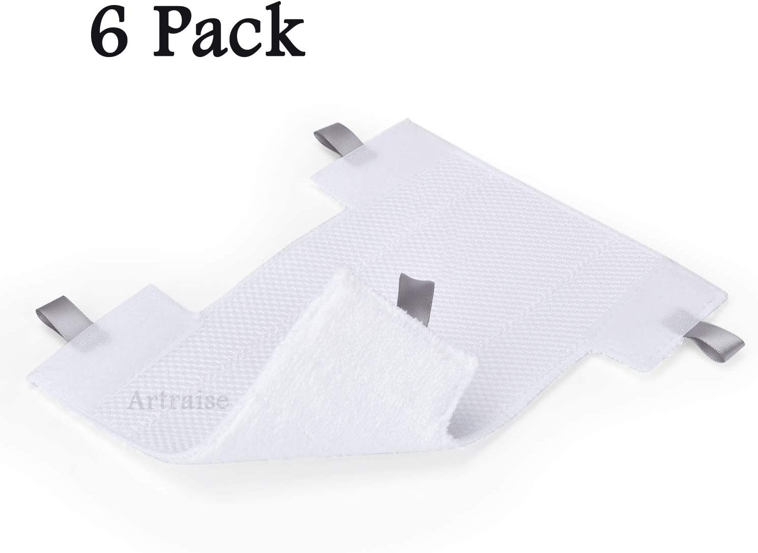 6Pack Dust-Away Micro-Fiber Hv300 Series Pads kit for Shark Dust-Away, Rotator, Navigator Lift-Away Pro Vacuum, Ultra Light Stick Vacuum
