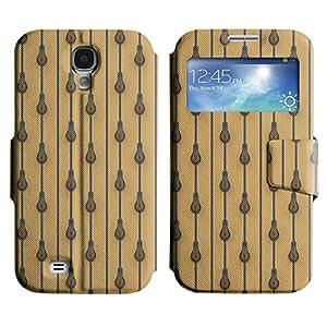 LEOCASE Funda Carcasa Cuero Tapa Case Para Samsung Galaxy S4 I9500 No.1007610