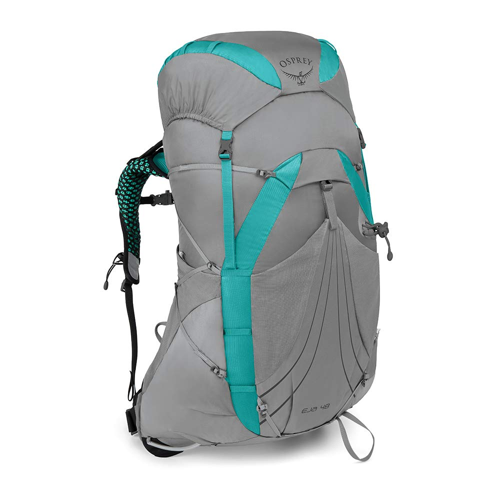 Osprey Packs Eja 48 Women's Backpacking Pack, Moonglade Grey, Medium