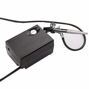 Kit de aerógrafo, aerógrafo compresor Kit de cepillo de aire ...