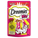 Dreamies Mix Cat Treats with Cheese and Beef, 8 Pouches (8 x 60 g)