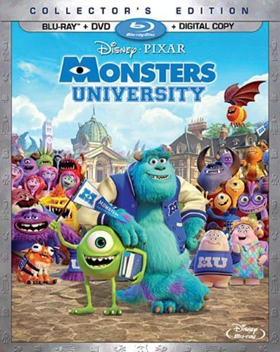 Monsters University (Blu-ray + DVD + Digital Copy) by Walt Disney Studios Home Entertainment