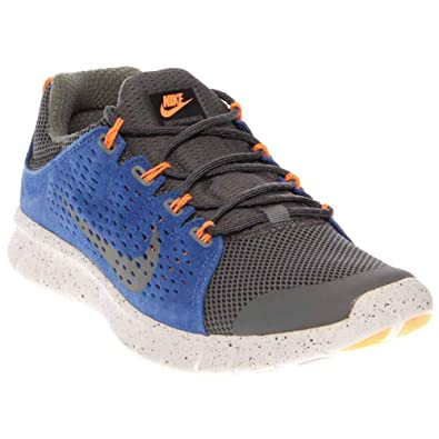 the latest fc4d2 24357 NIKE Free Powerlines 2 LTR Mens Running Shoes 599476-004 Dark Gray 8 M US