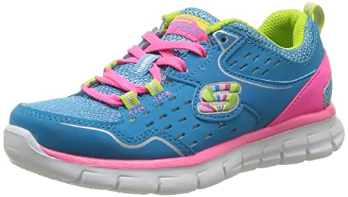 Skechers ALISTER - Zapatillas de deporte para niñas, Negro (BKMT), 31