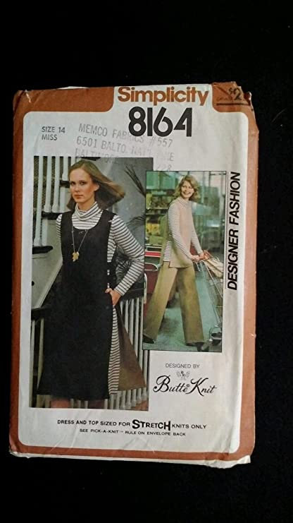 Amazon Simplicity 8164 Vintage Sewing Pattern Misses Elastic