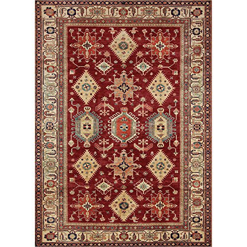 RUGGABLE 131630 Ruby Indoor/Outdoor Stain Resistant Area Rug (Cover and Pad) 4 Ruby Area Rugs