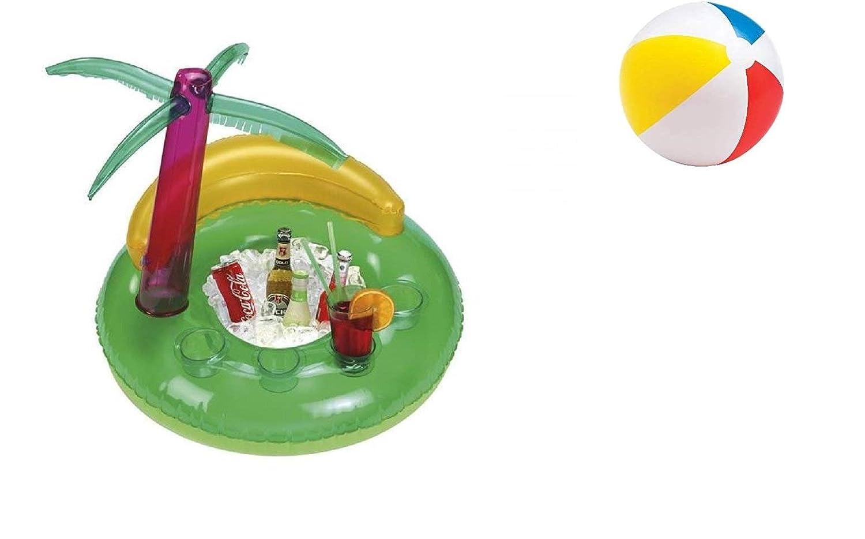 Bar hinchable para piscina Aloha, vacaciones relajantes con ...