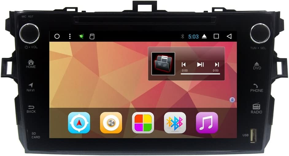 2G RAM 9'' Android 7.1 Car Stereo GPS for Toyota Corolla 2006-2011 Car Head Unit vehicle in-dash GPS navigation system