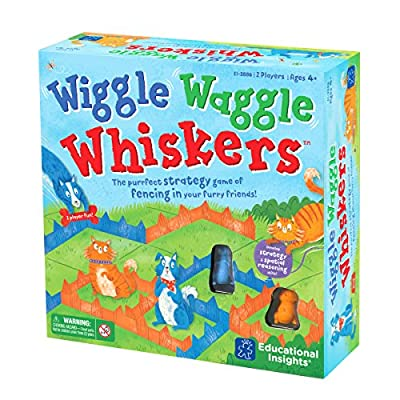 Educational Insights Wiggle Waggle Whiskers: Toys & Games