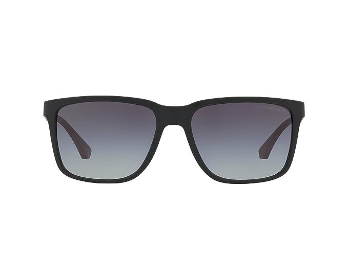 Emporio Armani 56518G, Gafas de Sol para Hombre, Black ...