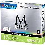 アイ・オー・データ機器 長期保存可能なデータ用DVD「M-DISC」1回記録用 4.7GB 1-4倍速 5mmケース5P DHR47YMDP5V1