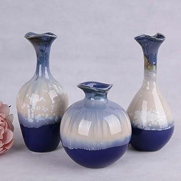 Blumen Vase, Keramik Vase Set Handwerk, Blumen Und Pflanzen Dekoration,  Ornament