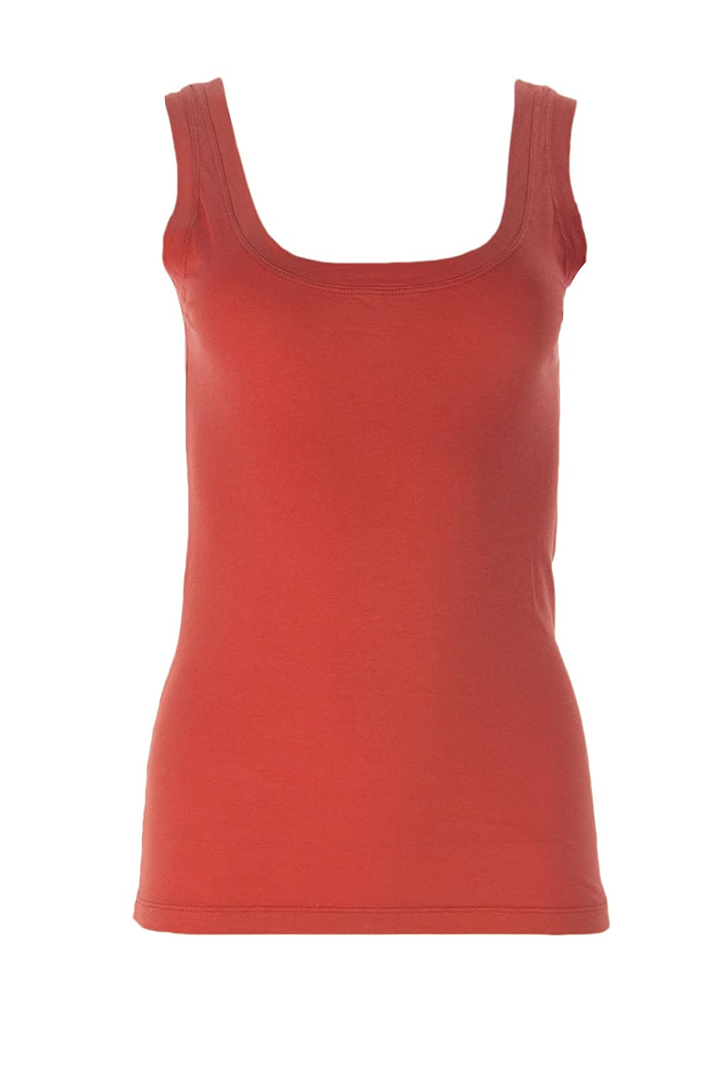 VELVET by Graham & Spencer Women's Solid U-Neck Tank Top