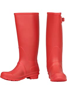 Delberto Women's Rubber Rain Boots: Buy Online at Low Prices in ...