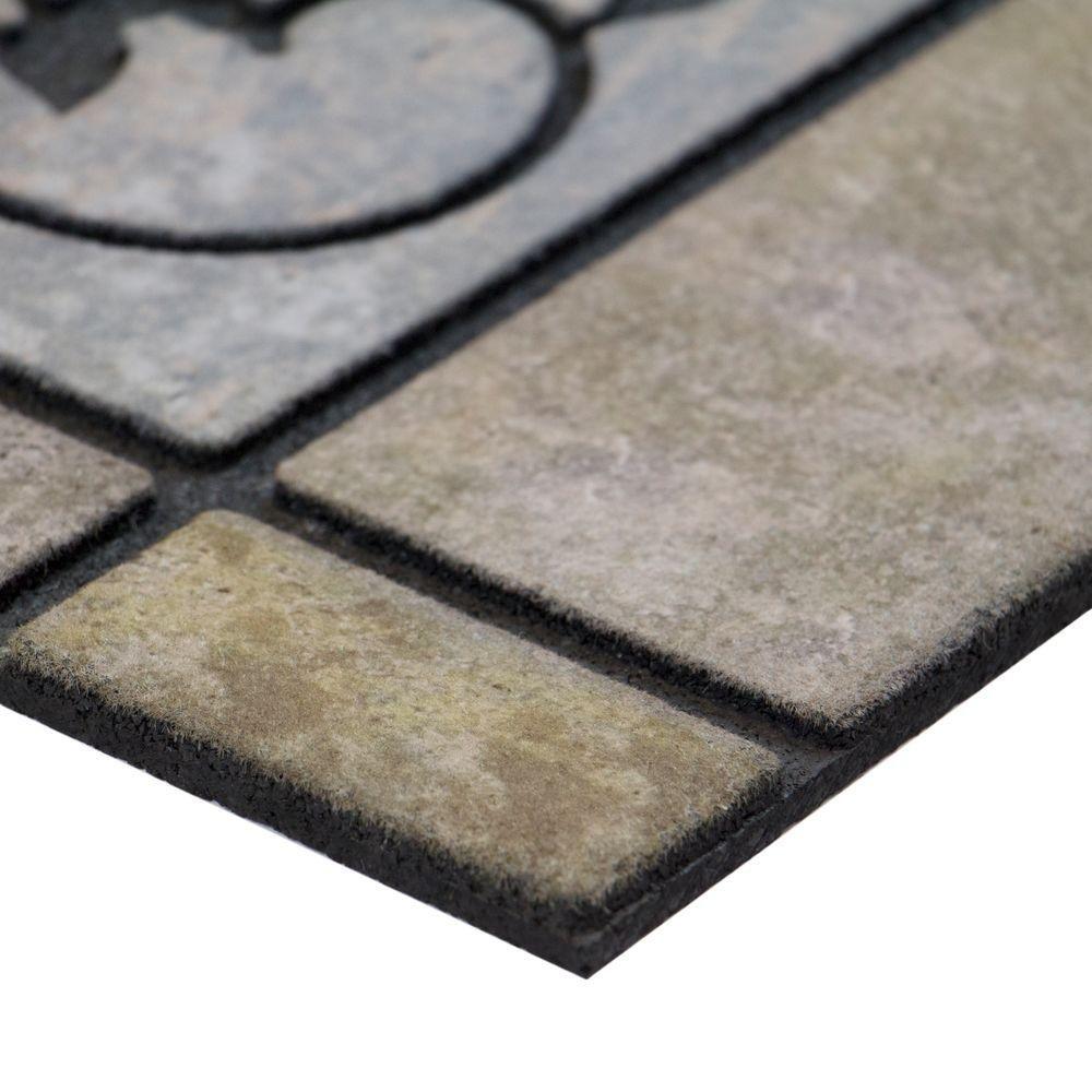Amazon com welcome stone 24 in x 36 in door mat garden outdoor