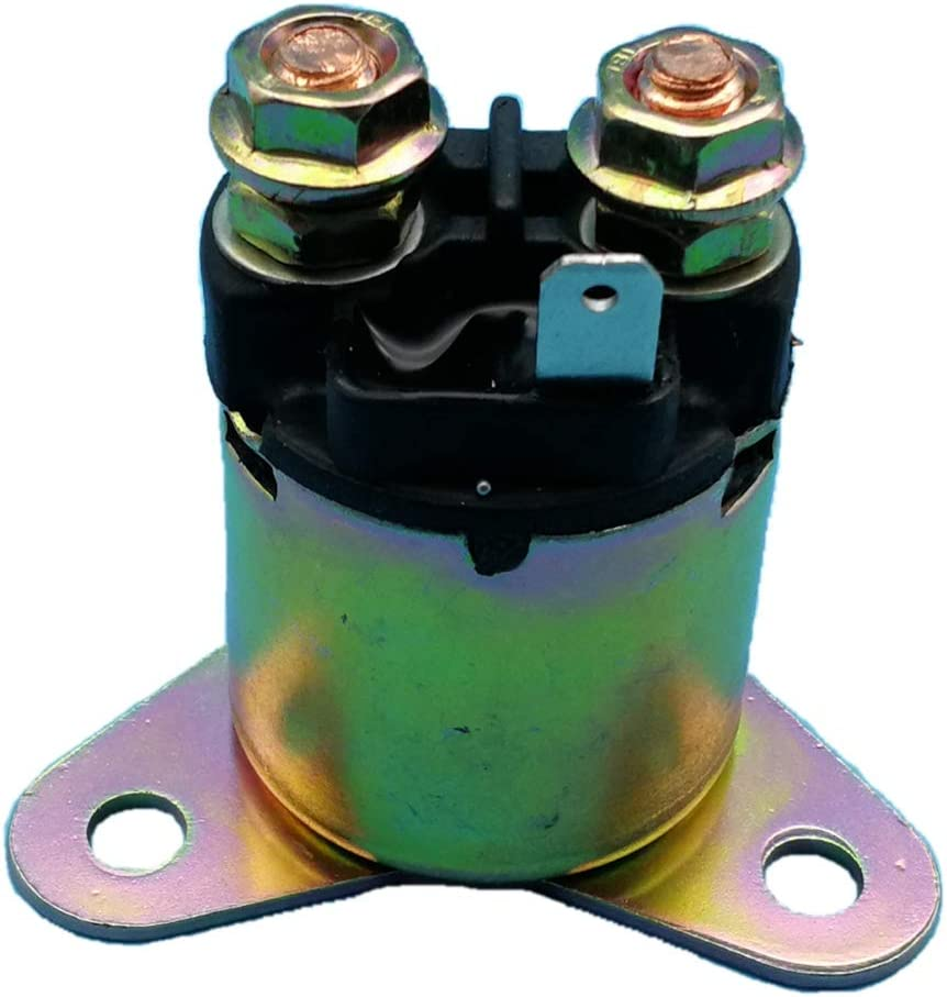 Tuzliufi Replace Starter Relay Solenoid ND Reman Nippondenso Honda GX390 GX340 GX240 GX270 Small Engine 11HP 13HP 9.9HP 8HP 188F 190F 5KW 5.5KW 6KW 6.5KW EC5500 EC6500 Generator Water Pump New Z302