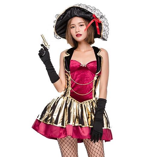 QAR Disfraz De Halloween COS Traje Pirata Belleza Hembra Colgando ...