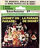 View-Master Disney on Parade 3d 3 Reel Set - Made in USA