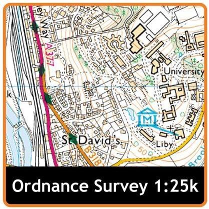10 Satmap GPS Map 1 25000/UK