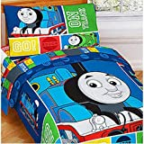 Thomas and Friends 4 Pc Toddler Bed Set