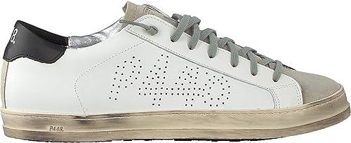 P448 Sneaker Low John Men Weiss Herren
