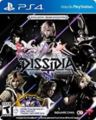 Dissidia Final Fantasy NT introduces squad-based battle gameplay by allowing you to wage war with over 20 of your favorite Final Fantasy characters. Combining unparalleled visuals, seamless gameplay, and your favorite characters from the past...