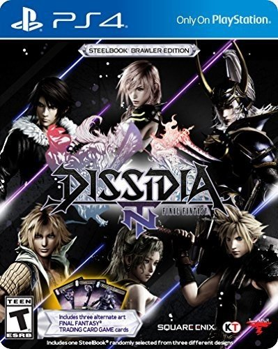 Dissidia Final Fantasy Nt Steelbook Brawler Edition   Playstation 4