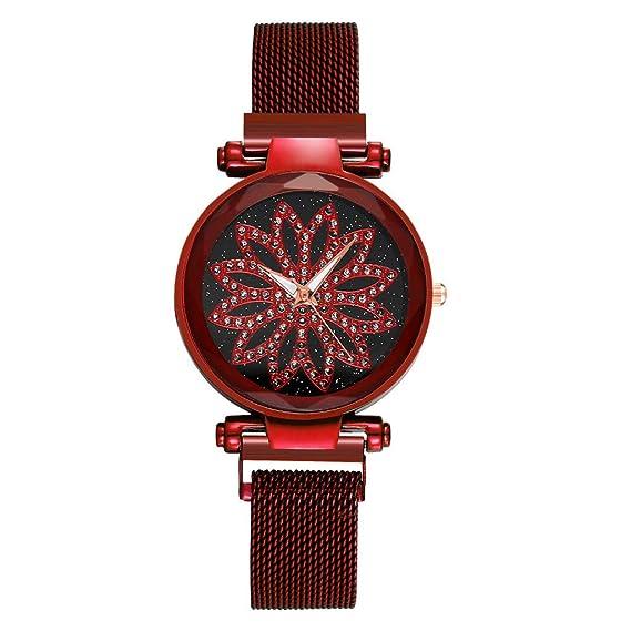 Sannysis Relojes Mujer Ultra Fino Minimalista Reloj de ...